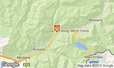 Map Termignon la Vanoise Apartment 3322