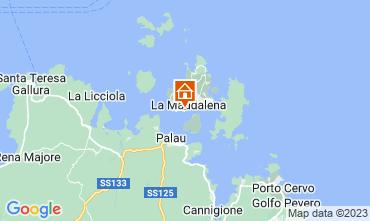Map La Maddalena Apartment 63454