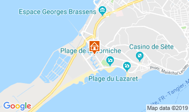 Map Sete One-room apartment 119940