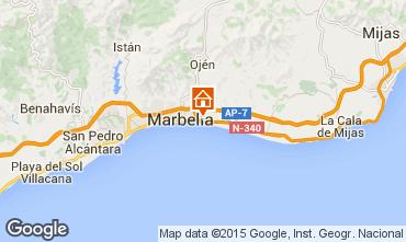 Map Marbella Villa 64346