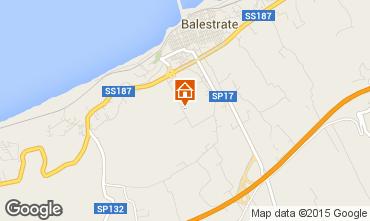 Map Balestrate Villa 92824