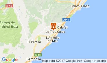Map La Ametlla de Mar Villa 110101
