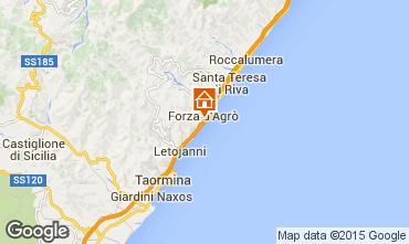 Map Taormina Apartment 23128