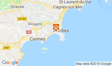 Map Juan les Pins Apartment 86704