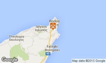Map Rhodes Villa 98836