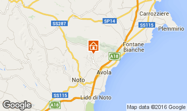 Map Avola Villa 103389
