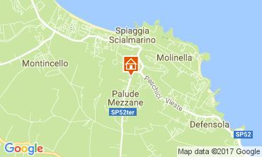 Map Vieste Apartment 106210