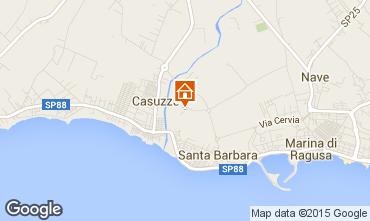 Map Marina di Ragusa Apartment 35318