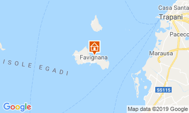 Map Favignana Apartment 46408