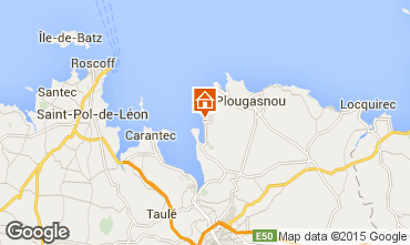 Map Plougasnou House 53936