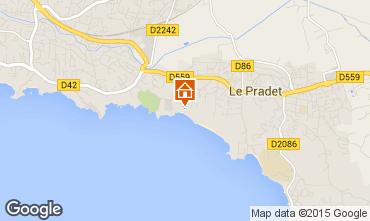 Map Toulon Bungalow 5844