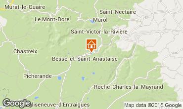 Map Besse - Super Besse Chalet 68149