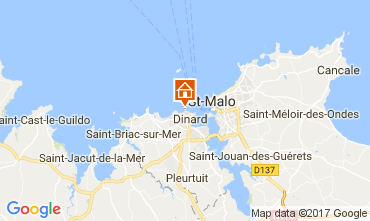 Map Dinard Unusual accommodation 111904