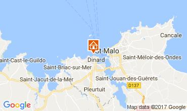 Map Dinard Unusual accommodation 111904