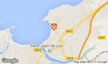 Map Saint Jean de Luz One-room apartment 86181