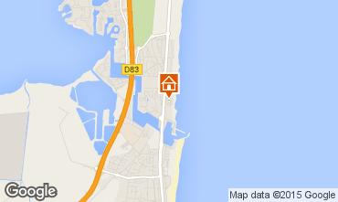 Map Le Barcares Apartment 74179