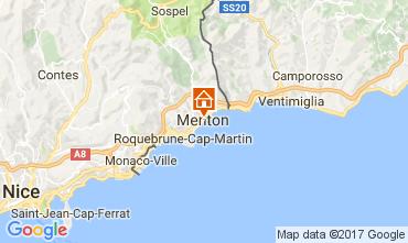 Map Menton Apartment 107752