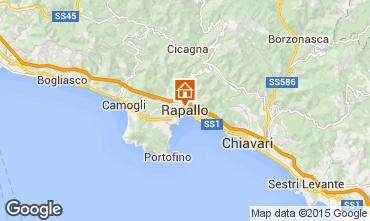 Map Rapallo Apartment 80314