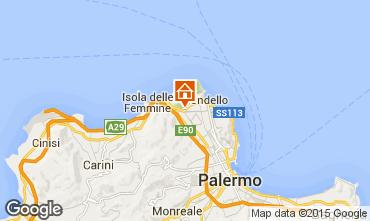 Map Mondello Apartment 92464