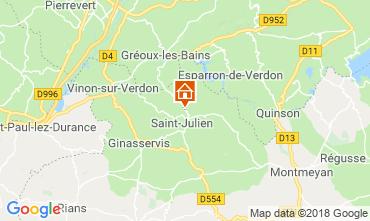 Map Gréoux Les Bains House 93624