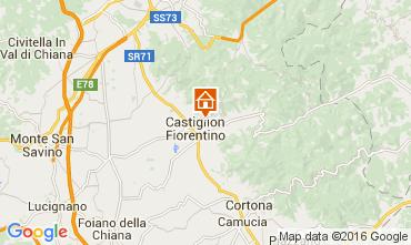 Map Arezzo Villa 11865