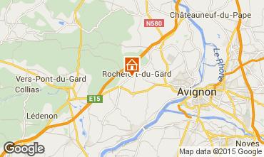 Map Avignon House 100720