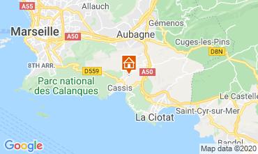 Map Cassis Villa 81840