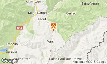 Map Vars Chalet 83234