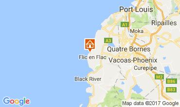 Map Flic-en-Flac Apartment 111737