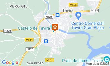 Map Tavira One-room apartment 55990