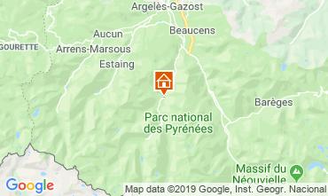 Map Cauterets Chalet 117742