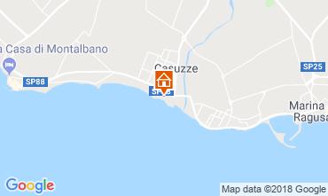 Map Marina di Ragusa Apartment 81847