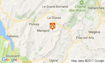 Map Manigod-Croix Fry/L'étale-Merdassier Apartment 108269