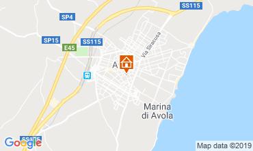 Map Avola Villa 119752