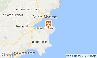Map Saint Tropez Villa 111888