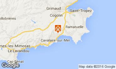 Map Cavalaire-sur-Mer Villa 102507