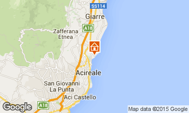 Map Acireale Apartment 95738