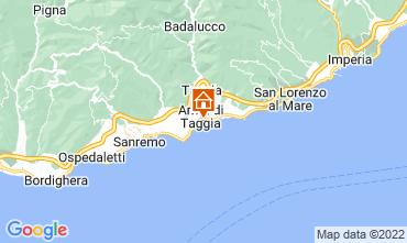 Map Sanremo Apartment 76180