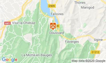 Map Notre Dame de Bellecombe Apartment 115741