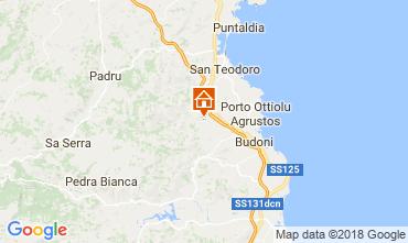 Map San Teodoro Apartment 32601