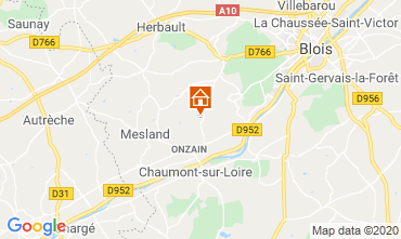 Map Blois Mobile home 101805