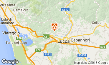 Map Lucca Apartment 75322