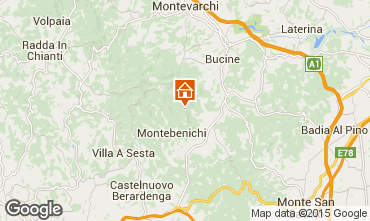 Map Siena Villa 75874