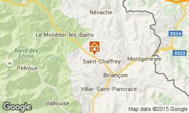 Map Serre Chevalier Chalet 79917