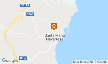 Map Santa Maria Navarrese Villa 118243