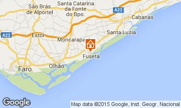 Map Tavira Apartment 58475