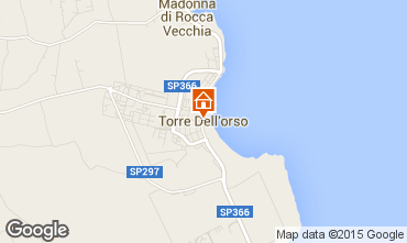 Map Torre dell'Orso Villa 63887