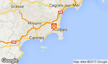 Map Juan les Pins Apartment 82884