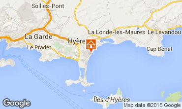 Map Hyères Mobile home 77840