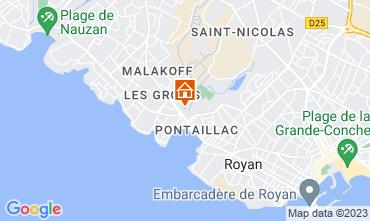 Map Royan Apartment 6855